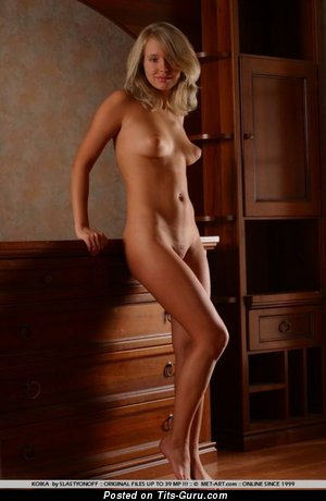 Koika - nude hot lady with medium natural boobies image