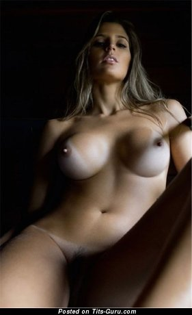 Image. Nude nice female with medium boob picture