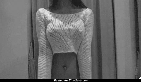 Изображение. Гифка умопомрачительной обнажённой женщины