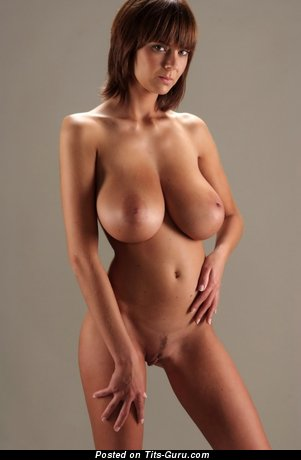 Image. Hot woman with huge natural tots image