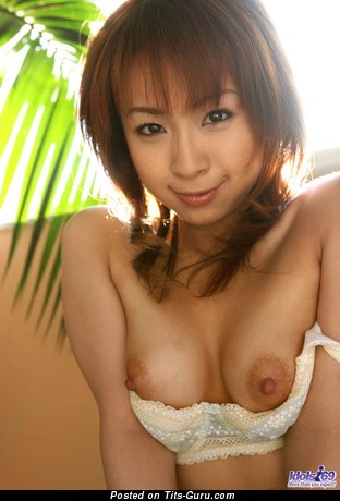 Image. Pretty Asian Teen - naked beautiful woman with medium natural boobies picture