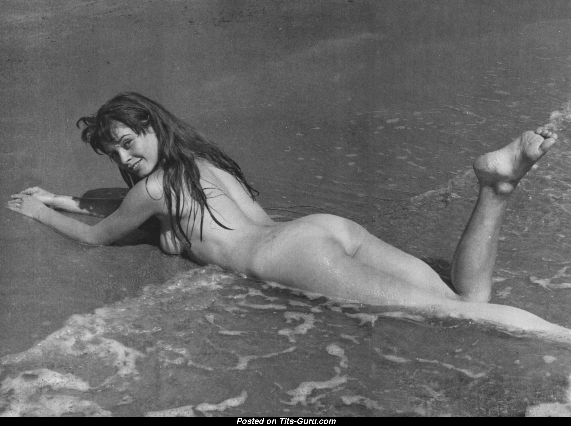 Brigitte Bardot  nackt