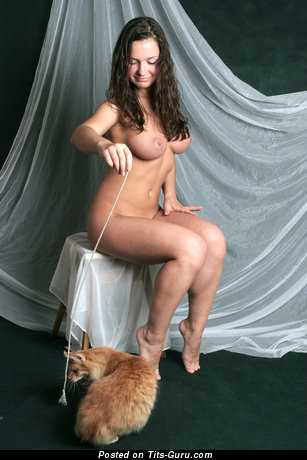 Image. Naked wonderful woman with big tits image