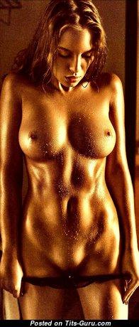 The Best Topless Brunette (Hd Sexual Wallpaper)