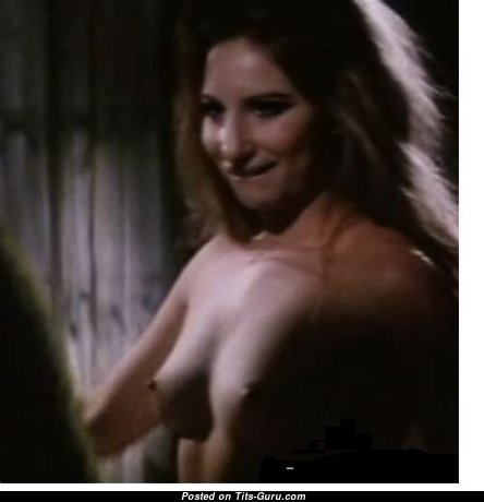 Barbara Streisand - The Nicest Actress with The Nicest Bare Natural Narrow Boobies (Porn Image)