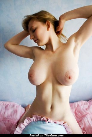 Image. Nude nice woman with big natural boobs photo