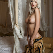 Beautiful woman with big natural tittys photo
