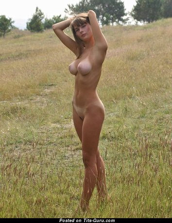 Image. Nude wonderful lady with medium boobies pic