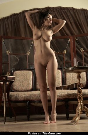 Image. Nude wonderful female with big natural tittes image