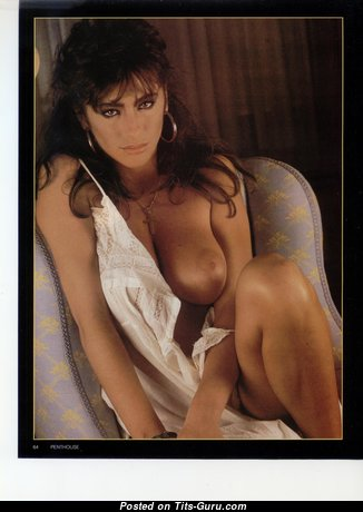 Sabrina Salerno - Amazing Italian Brunette Singer & Babe with Amazing Naked Real Dd Size Boobies & Sexy Legs in Lingerie (Vintage Hd 18+ Image)