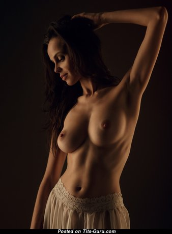 Sexy nude awesome girl with natural tittys image