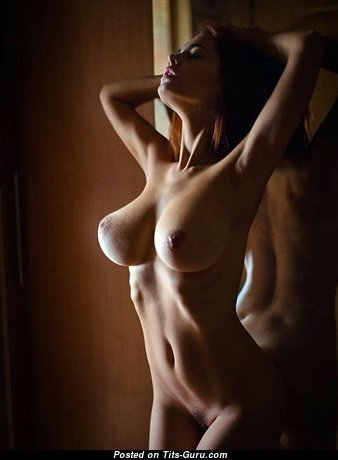 Grand Babe with Sexy Naked Real D Size Boob (Sexual Image)