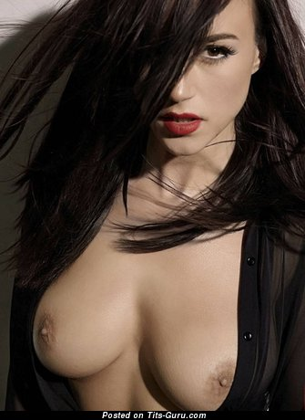 Image. Rosie Jones - sexy naked brunette with medium natural tits image
