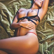 Ira Meli - brunette with medium tittys photo