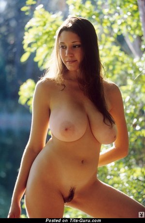 Image. Nude amazing lady with natural boobies pic