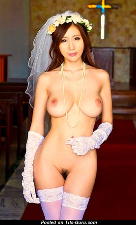 Julia Boin - Sexy Glamour & Topless Japanese Brunette Pornstar with Sexy Naked Real Big Sized Hooters & Big Nipples in Stockings (Hd Porn Pix)
