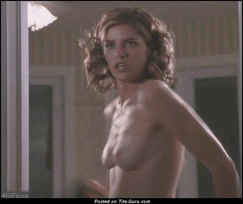 Image. Naked wonderful lady with medium natural tots gif