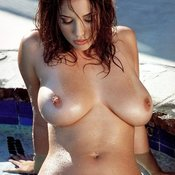 Nice lady with big natural breast pic