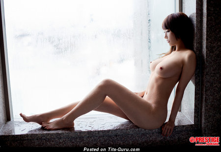 Image. Hoshino Chisa - naked nice female with medium natural breast picture