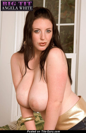 Angela White - Fascinating Australian Brunette Pornstar with Fascinating Open Natural Tits (Hd 18+ Photoshoot)