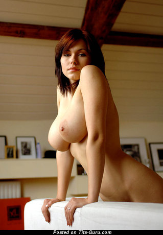 Image. Naked wonderful girl with big natural tittys photo