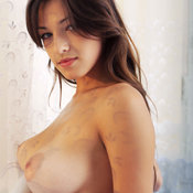 Sofi A - amazing lady with big natural breast image