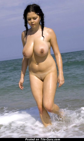 Image. Shione Cooper - brunette with big natural boobs picture