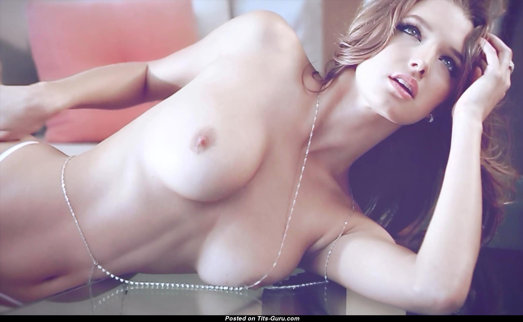 Alyssa Arce Sex alyssa arce - topless latina brunette babe with bare firm