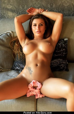 Image. Sexy nude nice lady with tattoo picture
