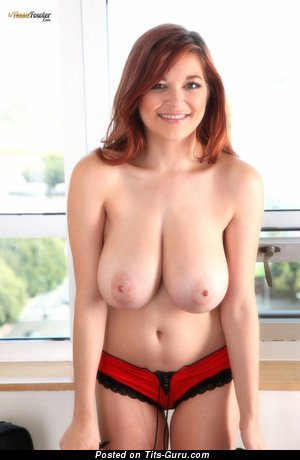 Image. Tessa Fowler - nude red hair with big boobs picture