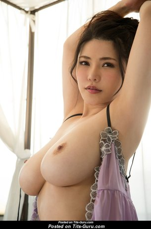 Anri Okita - Yummy Topless Japanese, British Brunette Pornstar with Yummy Naked Real Mega Tots (Hd 18+ Image)