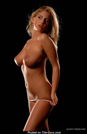 Image. Jenny Mcclain - blonde with big natural breast picture