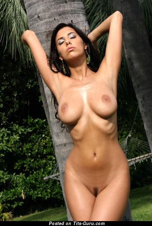 Image. Naked beautiful female with medium tittes image
