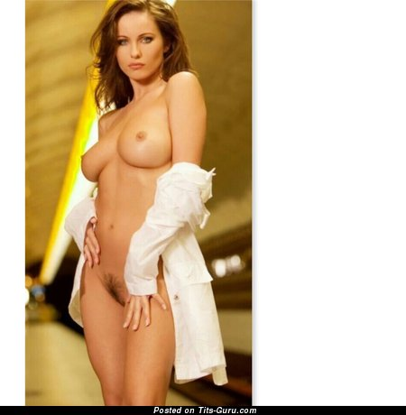 Image. Kyla Cole - sexy topless amazing female with medium natural breast pic