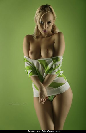 Image. Nude awesome lady with medium natural tittys photo