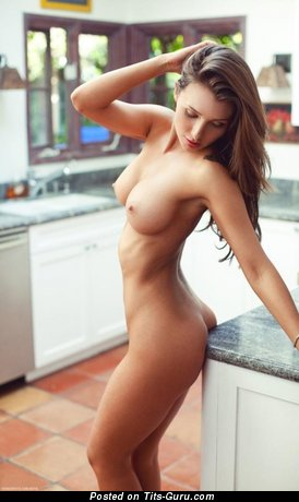 Naked red hair with big breast photo