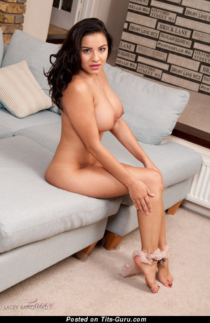 Image. Lacey Banghard - naked amazing woman with medium natural boob image