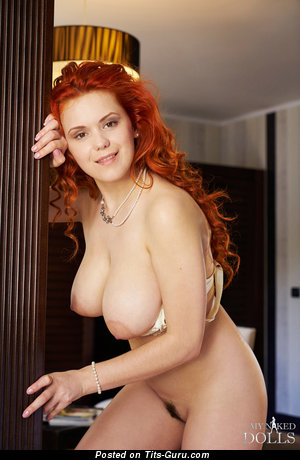 Image. Lilliyth Von Titz Aka Slavka Solnechnaya - nude red hair with big natural boobies picture