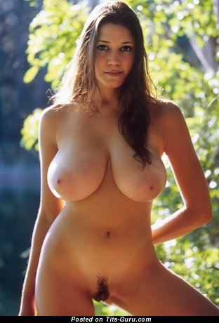Miriam Gonzalez - nude brunette with big natural tits image
