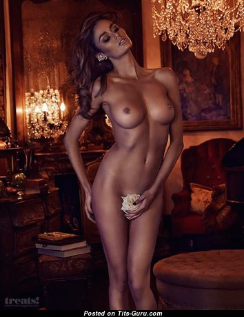 Nicole Trunfio - Marvelous Brunette with Marvelous Naked Normal Tots (Sexual Pix)