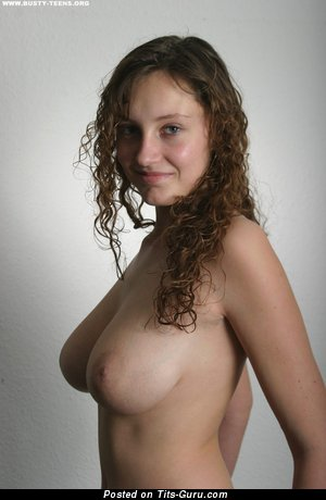Rachel (busty Teens) - Fascinating Topless Brunette with Fascinating Naked Real Medium Sized Tots (Hd Porn Picture)
