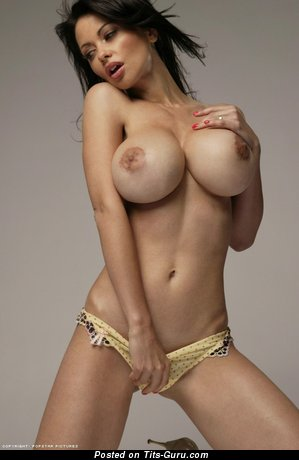 Image. Veronica Zemanova - naked amazing female with huge fake tittys image