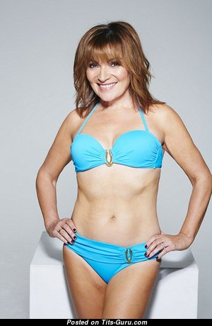 Lorraine Kelly - Appealing Scottish, British Red Hair Mom with Appealing Bald Natural Boobies (Sex Image)