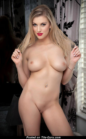 Image. Nude amazing girl with natural tits photo