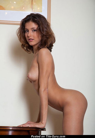 Image. Nude wonderful girl with medium natural tittes pic