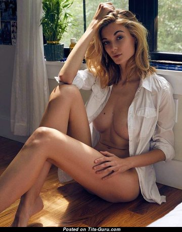 Anna Lisa Wagner - Dazzling Topless Lassie with Dazzling Defenseless Natural Boobys (18+ Wallpaper)