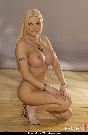 Kelly Bell - Amazing British Blonde with Amazing Exposed Silicone Titties is Undressing (Xxx Wallpaper)