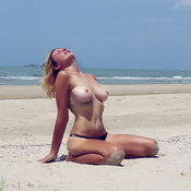 Lena - beautiful woman with big natural tittes picture