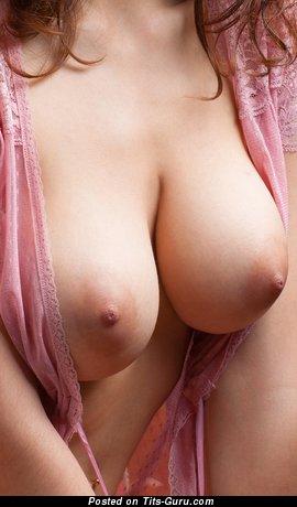 Delightful Lady with Delightful Nude Big Sized Boob (Hd Xxx Photo)