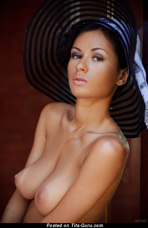 Image. Pammie Lee - sexy nude wonderful lady with medium natural breast photo